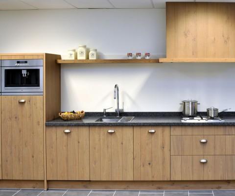 houten keuken in heiloo